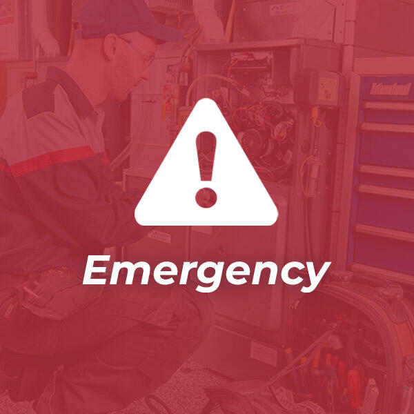I need service Emergency service icon image with red overlay