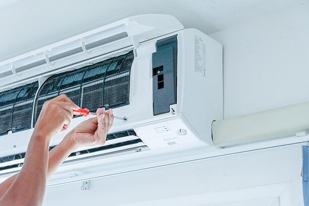 Preventative maintenance plans image of HVAC inspection Cooling installation